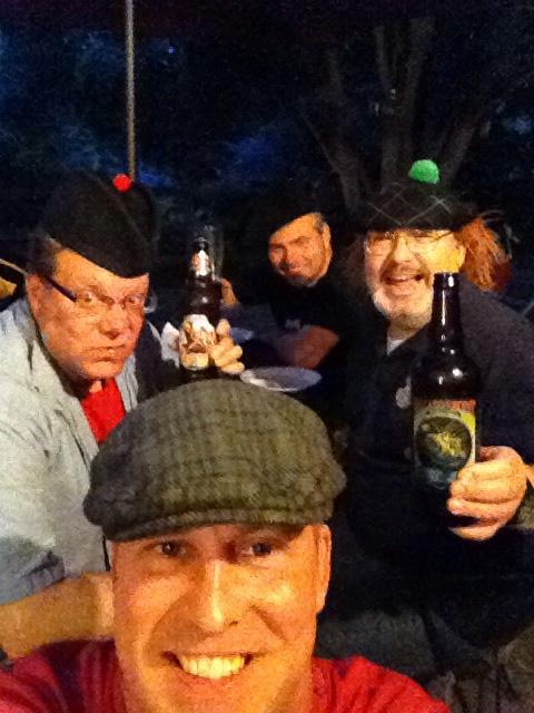 Said Irish and 'Scotch' (sic) fiends. professor hightrousers