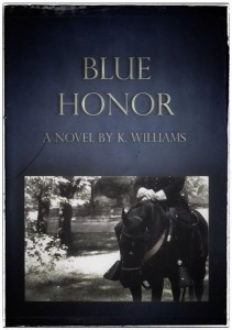cover of Blue Honor by K. Williams - Review of Blue Honor