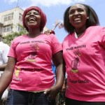 Protestors Against Rape Culture in Kenya - #MyDressMyChoice