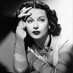Hedy Lamarr, co inventor of frequency hopping. - inventions by women