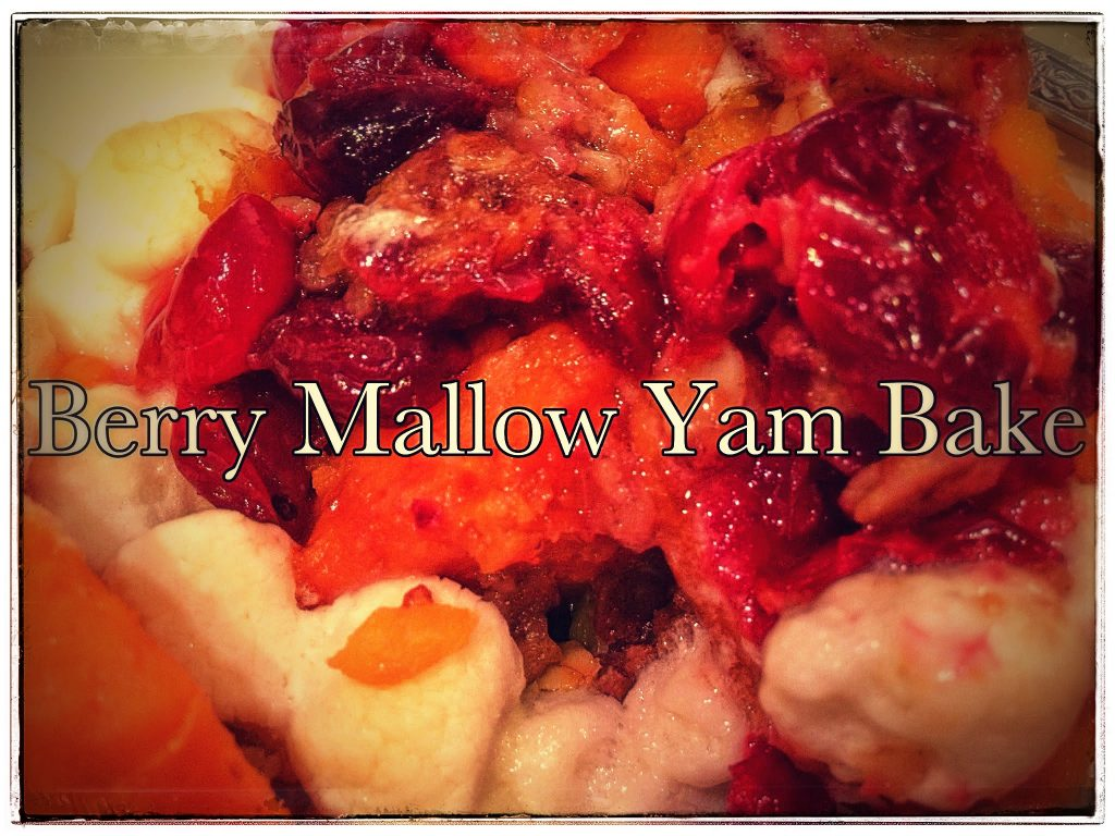 Berry Mallow Yam Bake