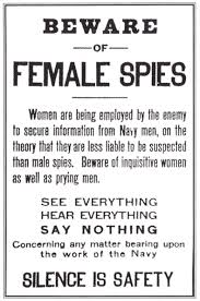 Beware of Female Spies - Overlooked Spies of World War II