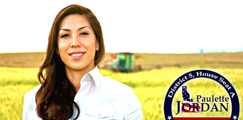 Paulette Jordan, Coeur d'Alene, who won election to the Idaho House of Representatives on November 4. Read more at http://indiancountrytodaymedianetwork.com/2014/11/13/speaking-native-womens-voices-and-challenges-putting-yourself-out-there-157841 - Speaking Up