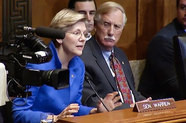 Watch Elizabeth Warren School the Senate on the Keystone XL Pipeline: 'It's About Money and Power'