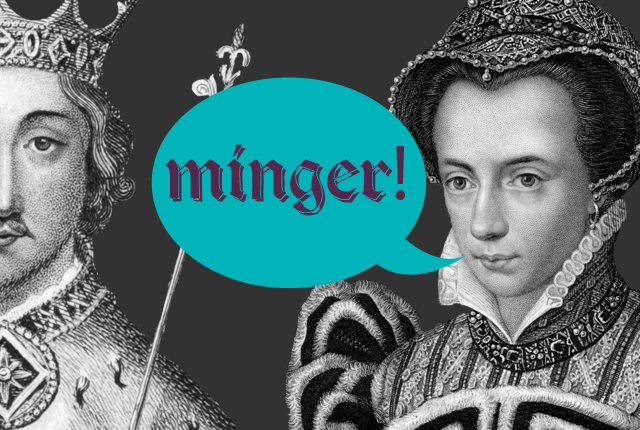 minger - 9 Great British Insults