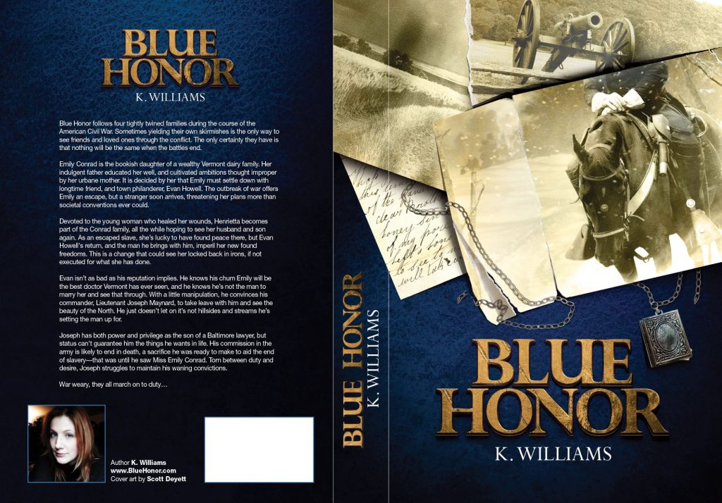 Blue Honor, 2nd Edition Cover