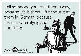 someecards, So you want to learn German