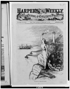 Harper's Weekly ad calling for donations to the Irish for Famine Relief - the Choctaws Saved the Irish