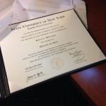 Author K. Williams, MALS Degree, Diploma - Social Arson