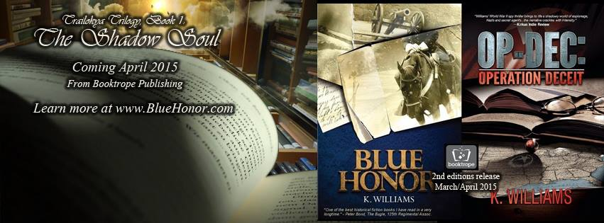 Author K. Williams, teaser banner, Facebook, Social Arson
