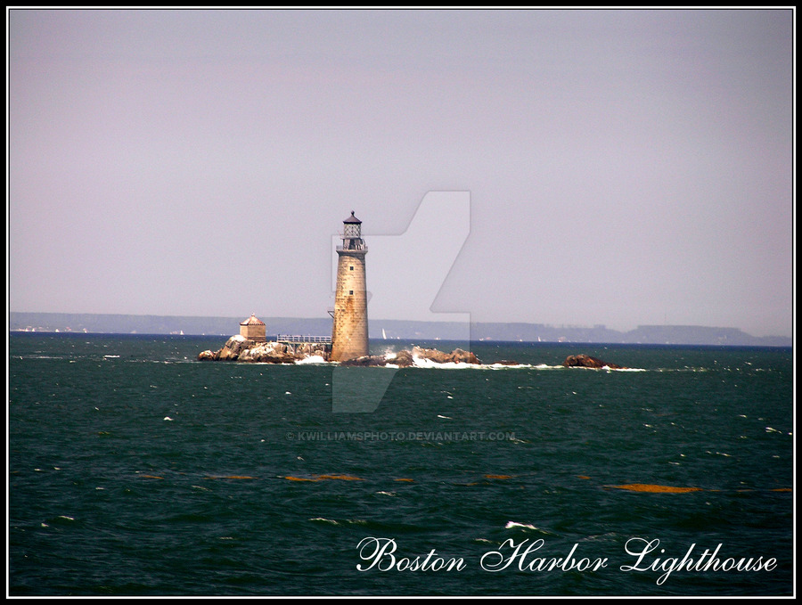 Boston Harbor Lighthouse, Art Feature