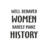 quote image 1, Blue Honor Teaches Women's History
