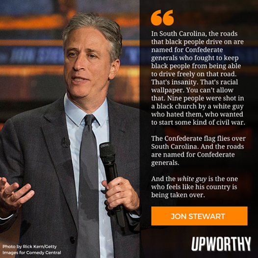 John Stewart comments on Charleston shooting