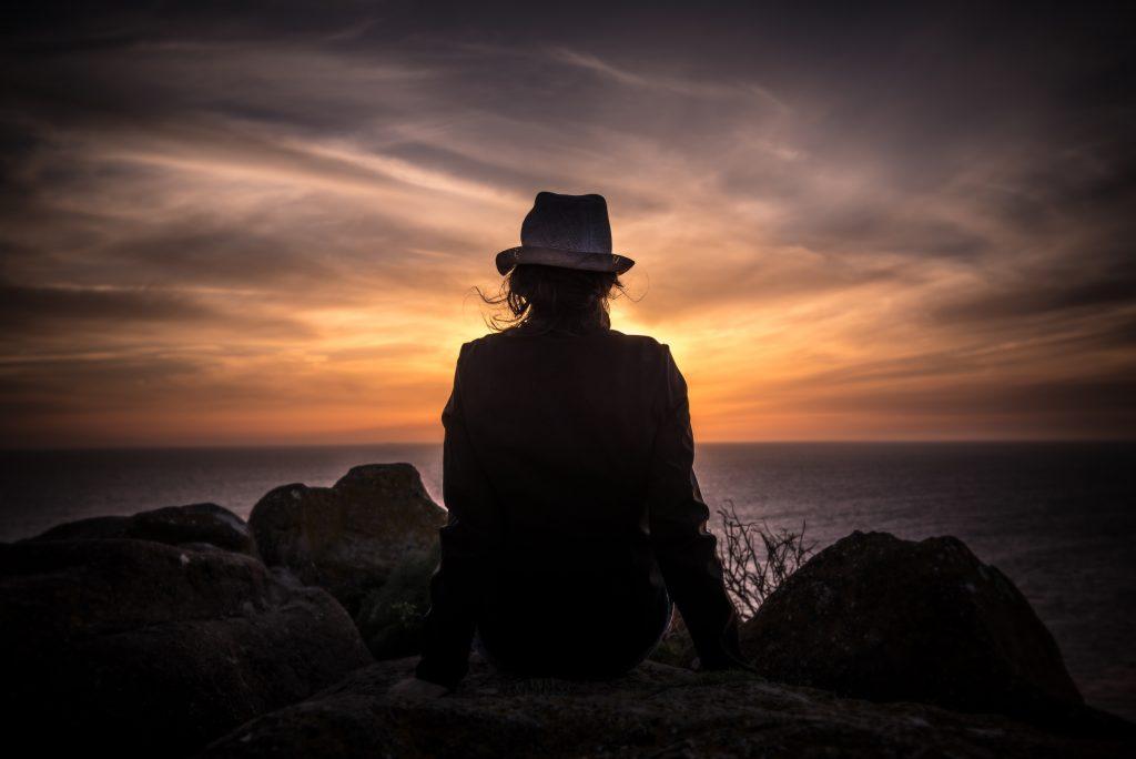 sunset, unsplash.com - Open Book Blog Hop