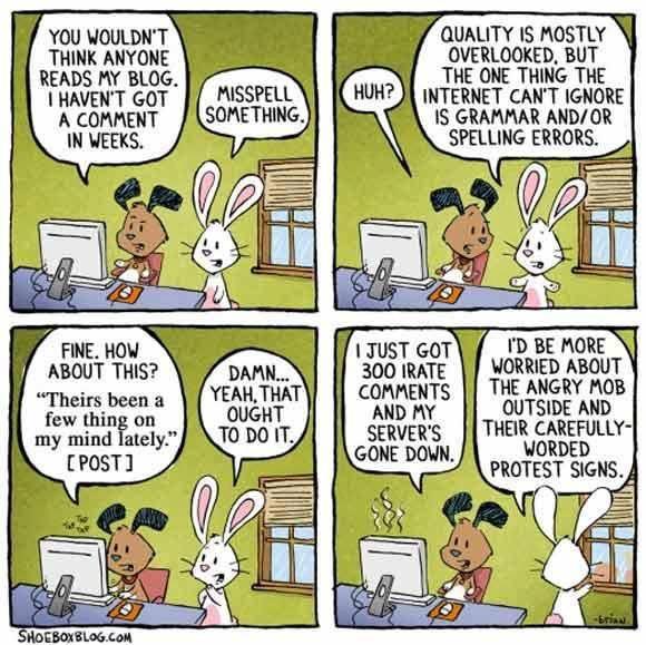 shobeboxblog.com - Blogger Problems - A Cartoon