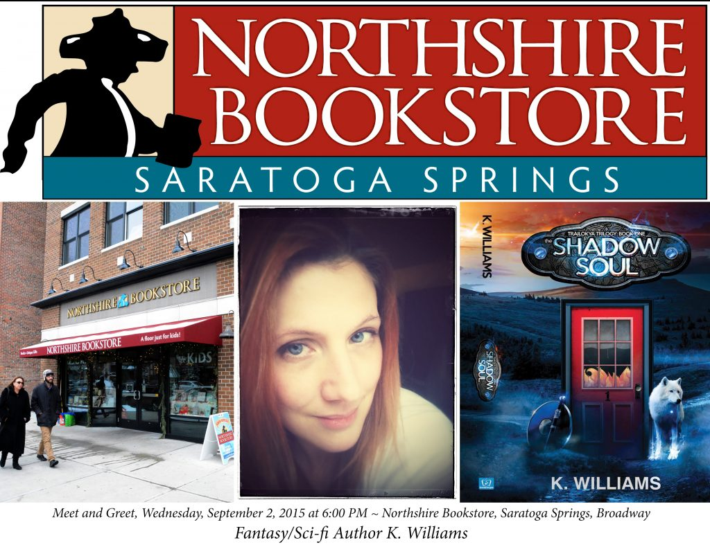 Northshire Bookstore, Author K. Williams, The Shadow Soul