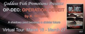 OP-DEC: Operation Deceit Book Tour - K Around the Web