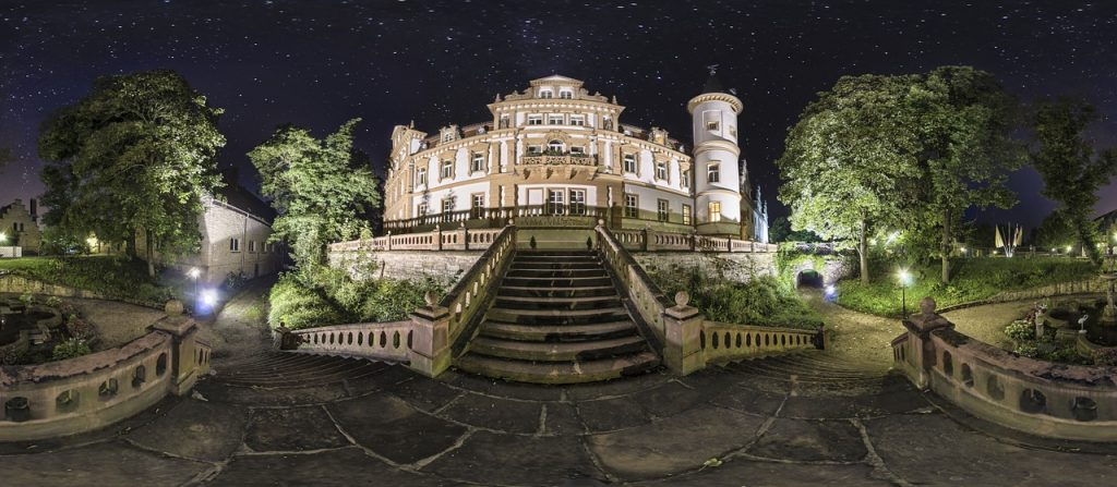 Castle at Night, Germany, pixabay.com - So you want to learn German