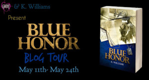 Blue Honor Book Tour - K Around the Web