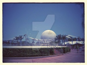 walt_disney_s_epcot_center_by_kwilliamsphoto-d7kcob0, Open Book Blog Hop
