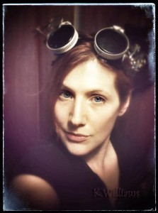 Media Page, K. Williams Steampunk Headshot