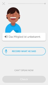 Duolingo, so you want to learn german