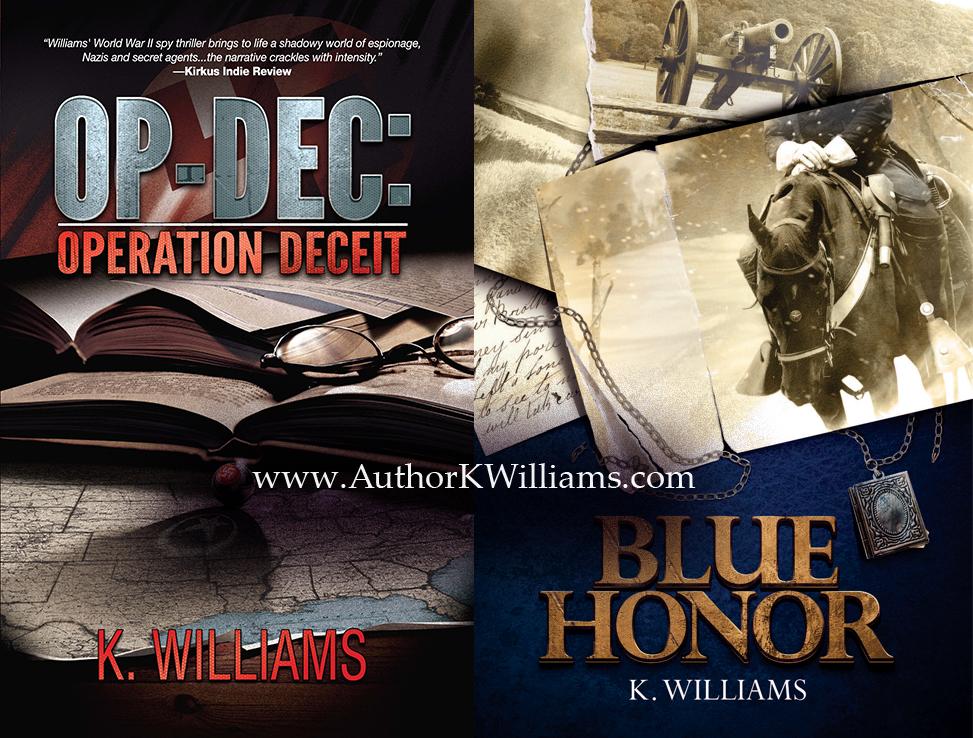 OP-DEC: Operation Deceit By K. Williams, Open Book Blog Hop