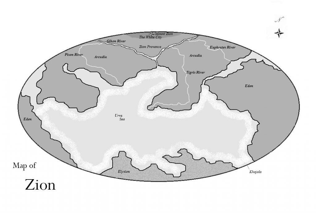 The Trailokya Trilogy Maps
