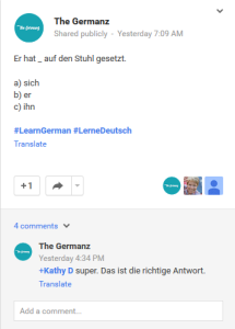 The Germanz, so you want to learn german