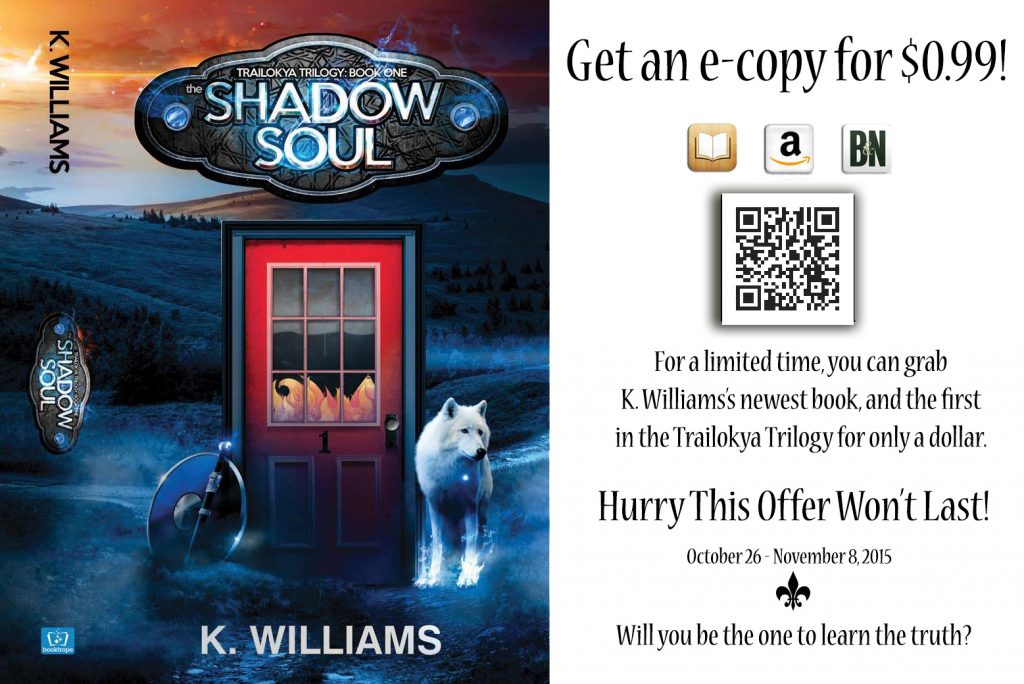 The Shadow Soul - Events - Author K. Williams