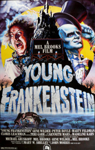 Young Frankenstein - Open Book Blog Hop