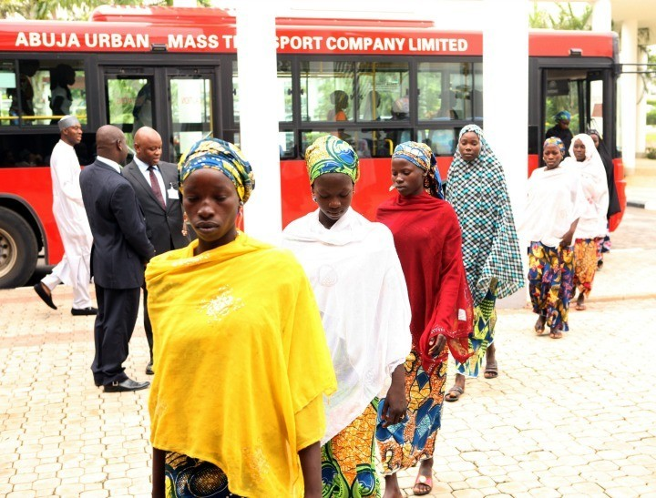 Some of the Boko Haram abducted girls have been freed. Chibok Girls?
