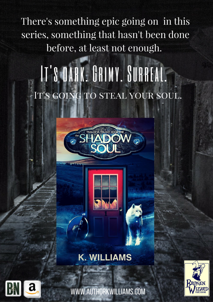 The Trailokya Trilogy, Book One: The Shadow Soul, Open Book Blog Hop