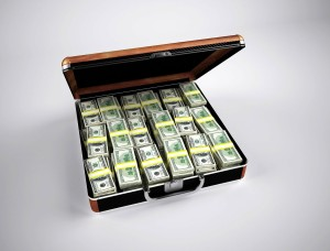 Briefcase of money - Writing Historical Fiction
