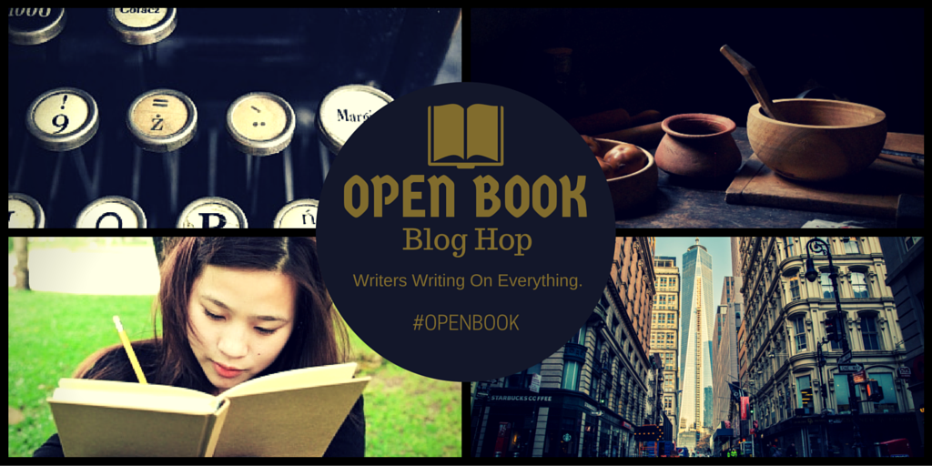 I spy - open book blog hop