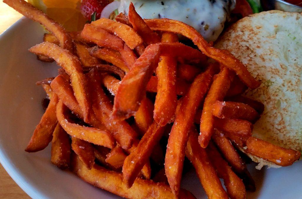 sweet potato oven fries