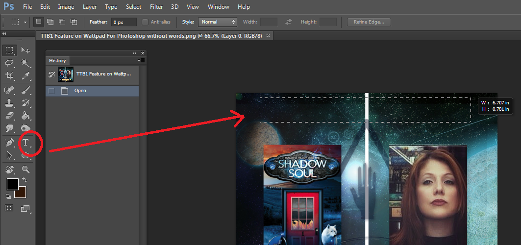 A Photoshop Tutorial To Make Text Stand Out On Your Ads - Open Book ...