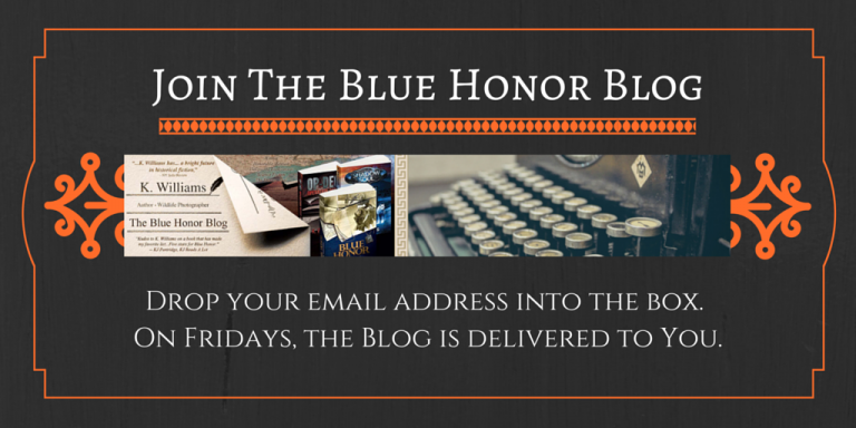The Blue Honor Blog Sign Up