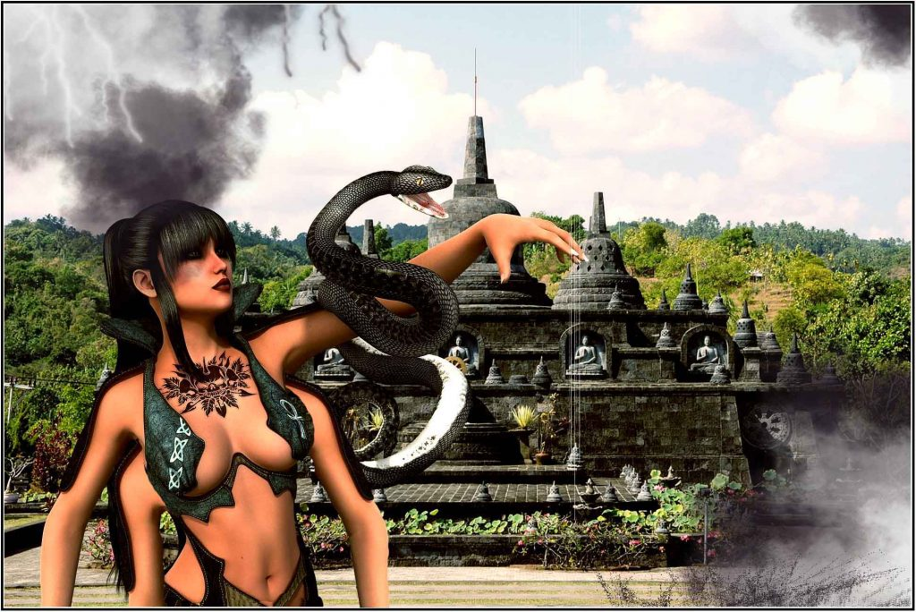 The Soul Races of The Trailokya Trilogy: Nagas