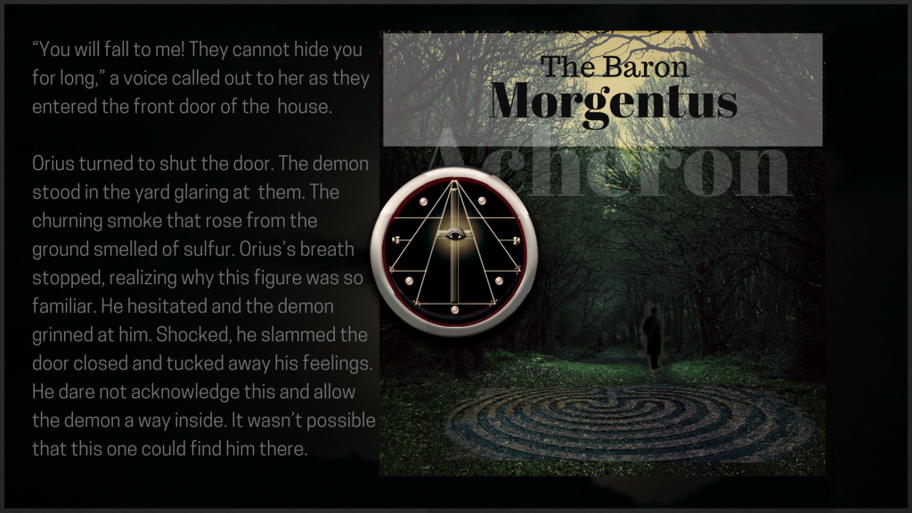 the baron morgentus The Trailokya Trilogy book two burning down
