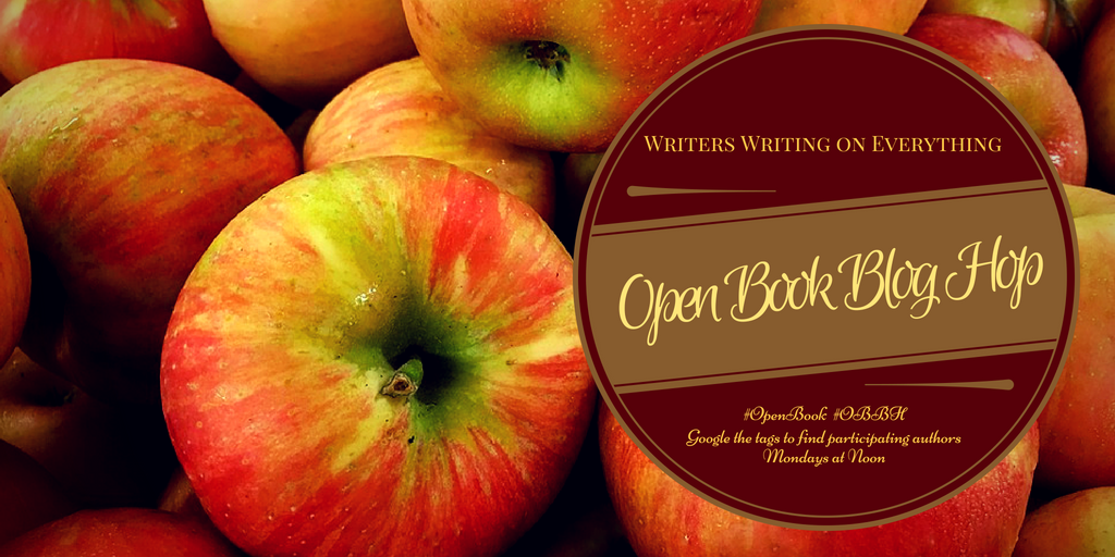 open book blog hop