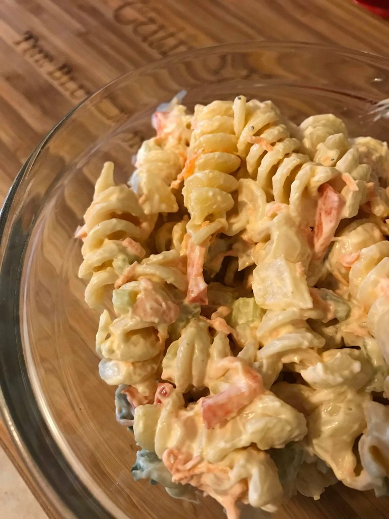 Culinary K, Another Kind of Macaroni Picnic Salad