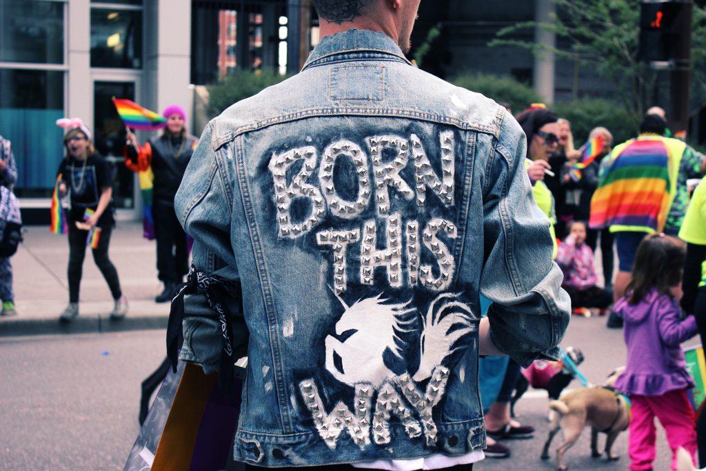 Born this way jean jacket