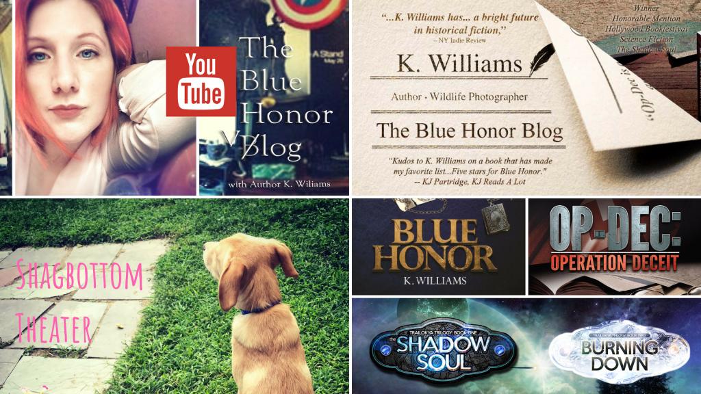2019 banner, the blue honor blog